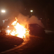 Brandweer in actie voor autobrand tijdens jaarwisseling