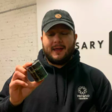 1st man to buy legal recreational pot in state history rang in New Year in line, braved freezing temps