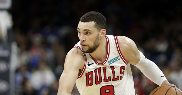 Bulls guard Zach LaVine is doubling down on his playoff predictions