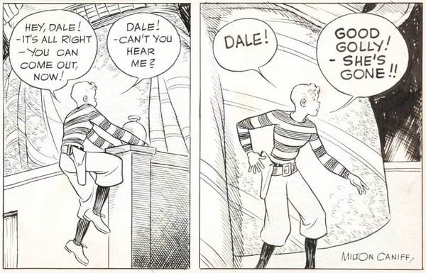Milton Caniff - Terry and the Pirates Original Comic Art