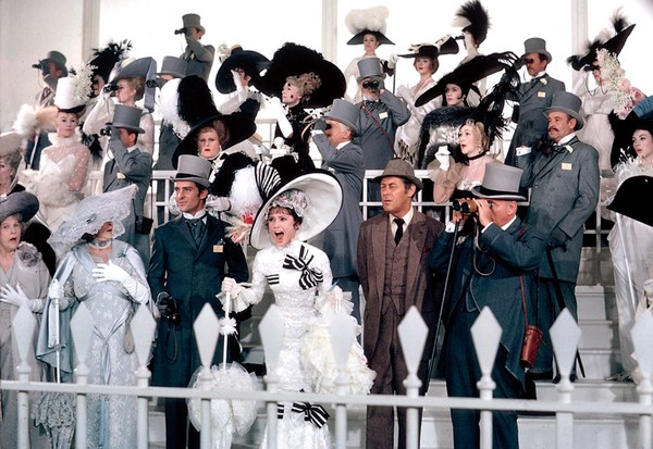 Pictured: The scene at Arsecot — I mean, Ascot