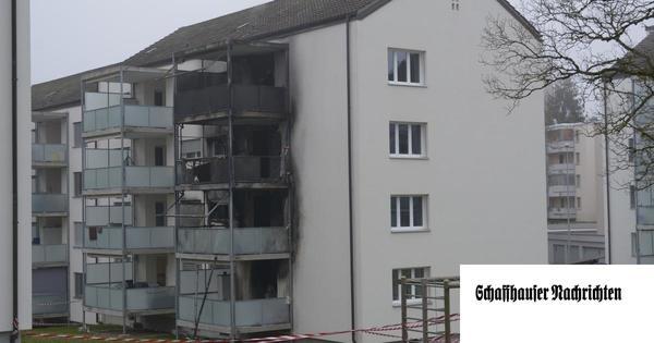 Brand an der Kesselstrasse:  Feuerwehrmann stürzt vom Balkon