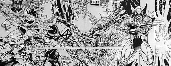 Adam Kubert - Wolverine Original Cover Art