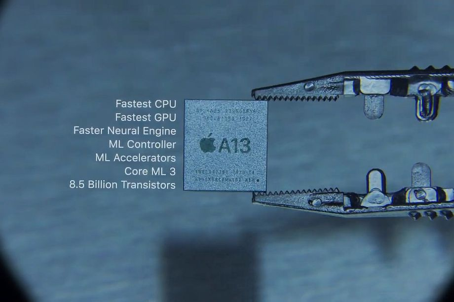 Apple's A13 Bionic processor uit de iPhone 11.