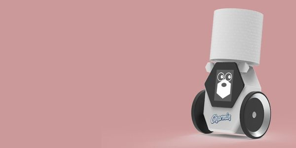 Charmin's pooptime robot pal will bring a new toilet paper roll when you need it most