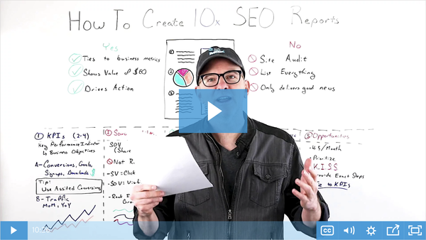 How to Create 10x SEO Reports - Whiteboard Friday - Moz