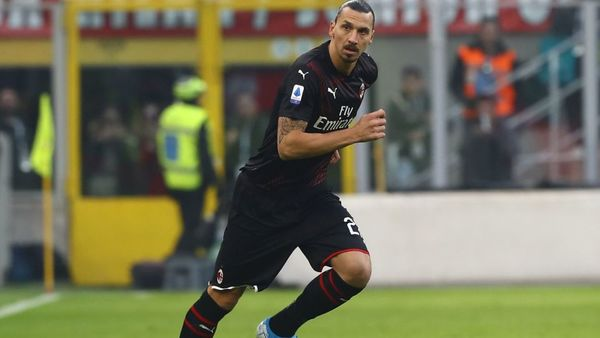 Zlatan Ibrahimović znów zagrał dla Milanu