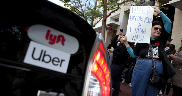 Uber launched secret project to target California drivers under new labor law