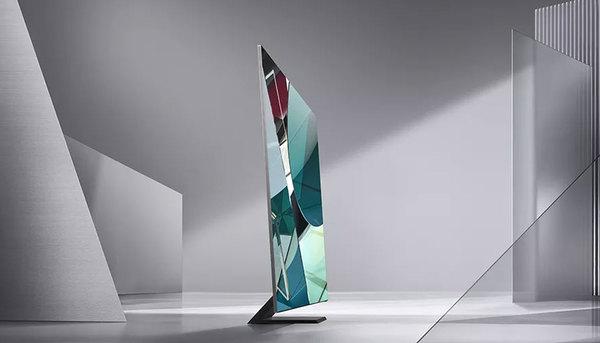 CES 2020: Samsung toont 8K-tv zonder randen: het scherm vult 99% van de voorkant