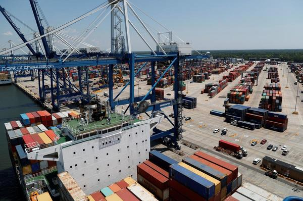 Declining imports push U.S. trade deficit to three-year low