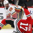 Strome injured as hesitant Blackhawks fall to Flames