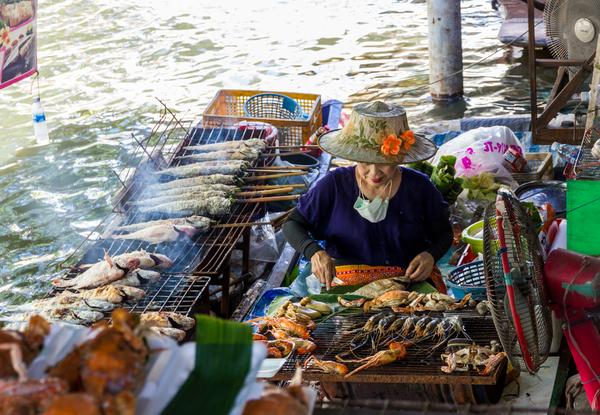 Alles ist authentisch thailändisch und wirklich lecker!