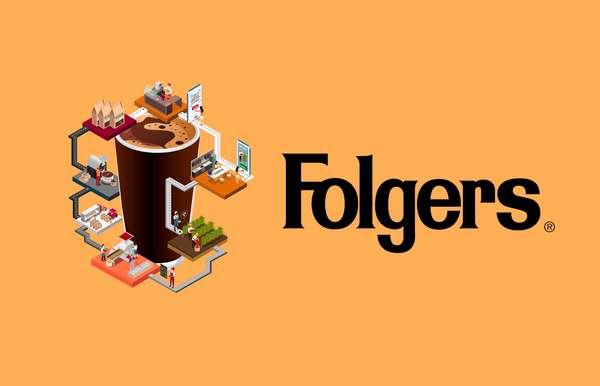 Folgers Taps Blockchain to Track Single-Origin Coffee Beans