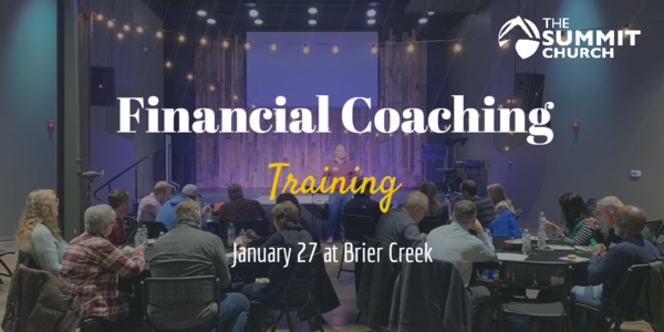 On January 27, at our next Stewardship Volunteer Equip, we will spend time modeling how to coach through our new digital platform. All of our financial coaches and anyone interested in serving in the Stewardship Ministry are encouraged to attend. RSVP by clicking the image above.