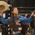 Meet Najiah Knight, the 13-Year-Old Girl Upending the World of Professional Bull Riding | Vogue