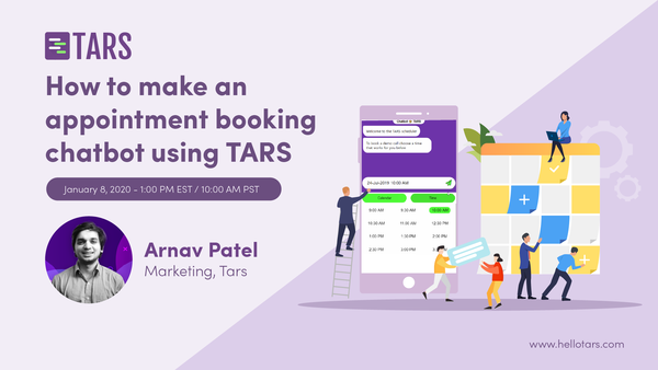 How to make an appointment booking chatbot using TARS