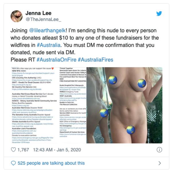 Des nudes pour sauver l'Australie