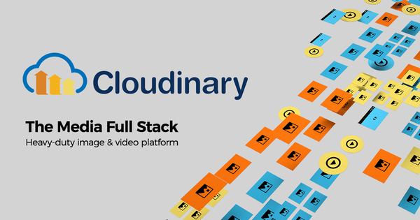 CLOUDINARY: Image and Video Upload, Storage, Optimization API, with Lightning Fast CDN