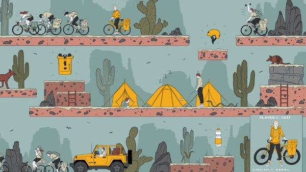 I Loved Bike Touring—Until I Got Paid to Do It