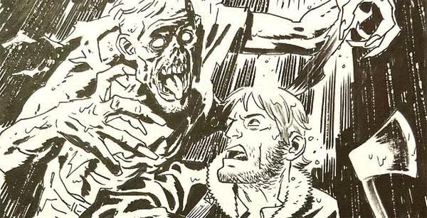 Chris Samnee - The Walking Dead Original Art