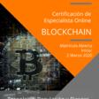 Certificación de especialista Online Blockchain