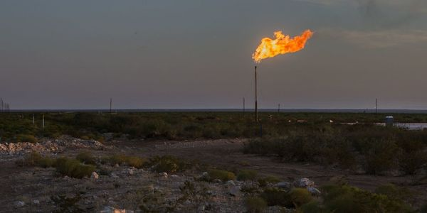 Oil producers are setting billions of dollars on fire