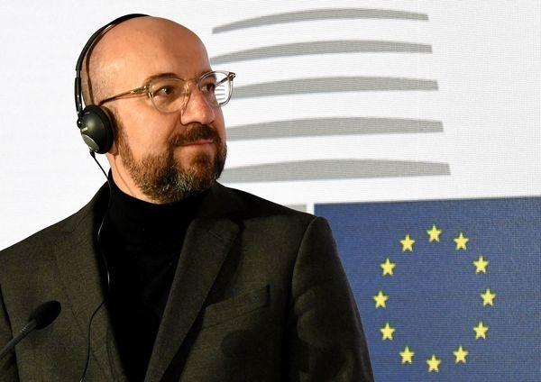 De nieuwe voorzitter van de Europese Raad Charles Michel