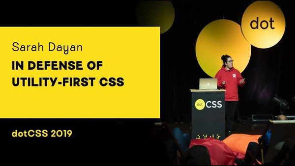 In Defense of Utility-First CSS, by Sarah Dayan