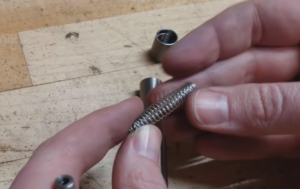 Make a stronger spring by weaving in a 2nd spring.