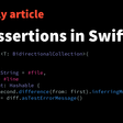 Test Assertions In Swift
