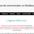 Agence wea, agence de communication de bordeaux