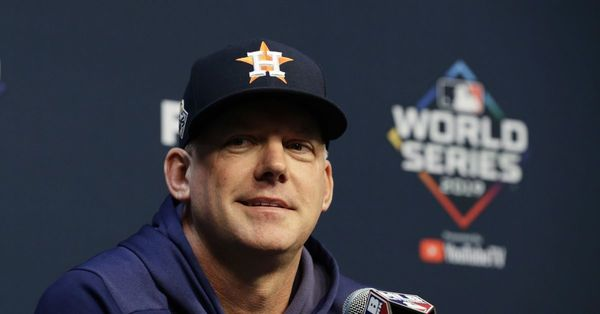Astros' manager AJ Hinch, GM Jeff Luhnow get 1-year suspensions for cheating scandal