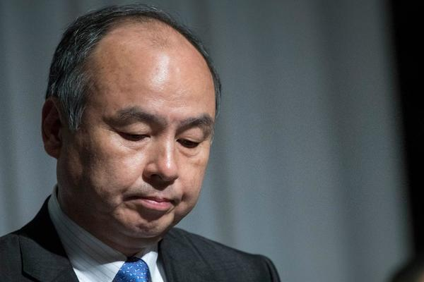 Tough days for Softbank's CEO Masayoshi Son...