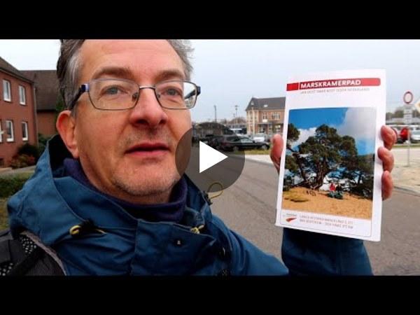 Camille wandelt het Marskramerpad en filmt tijdens de 18e etappe zijn tocht dwars door de polders van Rijnsaterwoude, via Woubrugge en Hoogmade naar Leiden. (video)