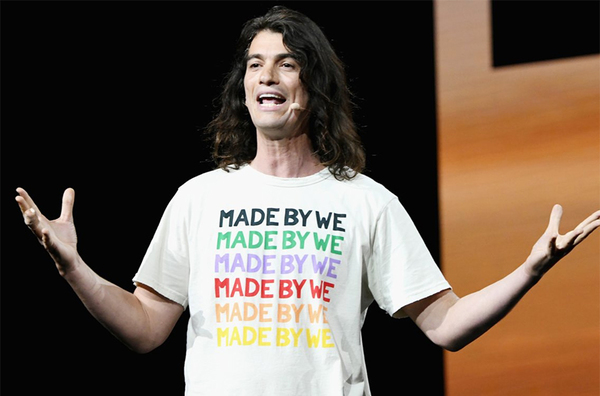 """Made by We - paid to Me"". -Ex WeWork CEO Adam Neumann"