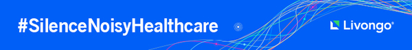 Livongo is working to #SilenceNoisyHealthcare. Visit livongo.com for more details.
