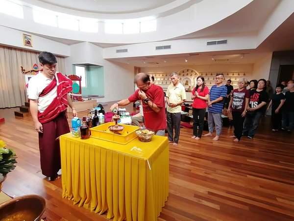 Vajrakilaya Puja led by Lama Jangchub Yeshe in Malaysia