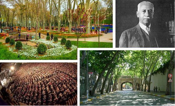 Gülhane Parkı, Ortaköy - Kabataş hattındaki enfes ağaçlar ve daha niceleri