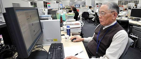 Pendant ce temps, au Japon, plus de 8 millions de personnes âgées exercent un emploi
