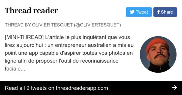 Décryptage par Olivier Tesquet