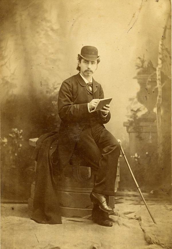 'Portret van Fredericus Jacobus van Rossum du Chattel' ca 1890 - foto: Adolphe Zimmermans