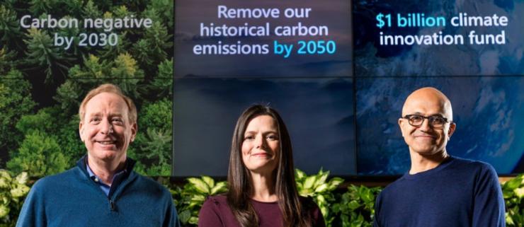 🌿 Microsoft vil slette 37 års CO2-udledning