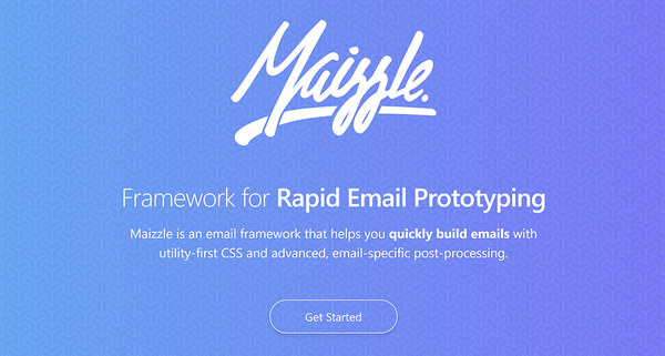 Maizzle - Framework for Rapid Email Prototyping