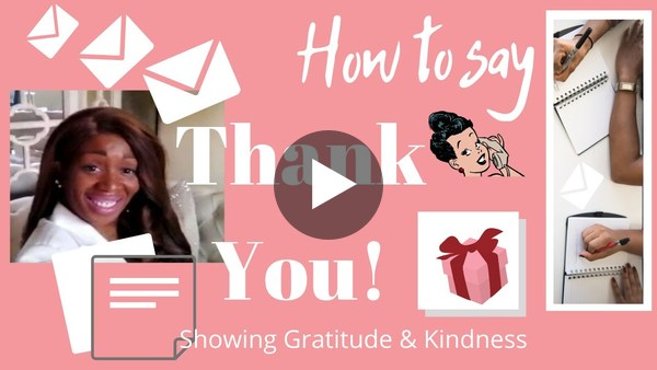 """How To Correctly Say """"Thank You!"""" With Sonya Lee Davies"""