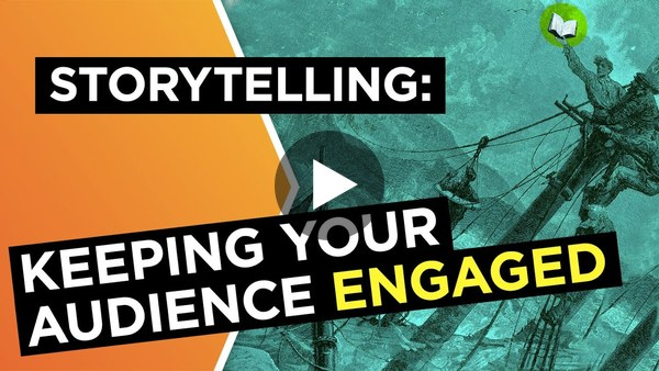 Storytelling: How to keep your audience engaged | Sebastian Junger | Big Think