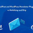 WordPress Newsletter Plugins vs Mailchimp and Drip