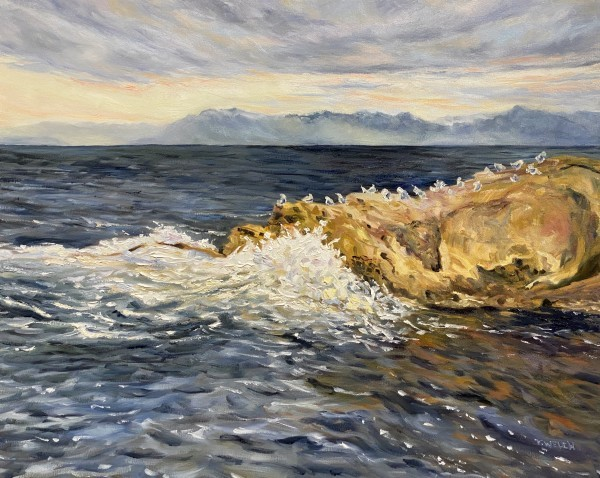 A Dramatic Salish Sea by Terrill Welch | Artwork Archive