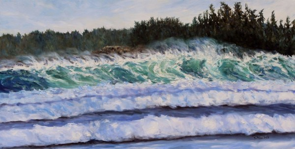Sea and Sun Cox Bay Tofino BC by Terrill Welch | Artwork Archive
