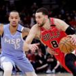 Zach LaVine lifts Bulls past Timberwolves 117-110