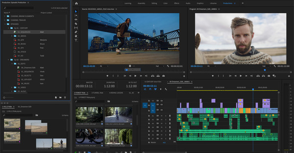 Adobe Premiere Pro teases Google Drive-like collaborative editing